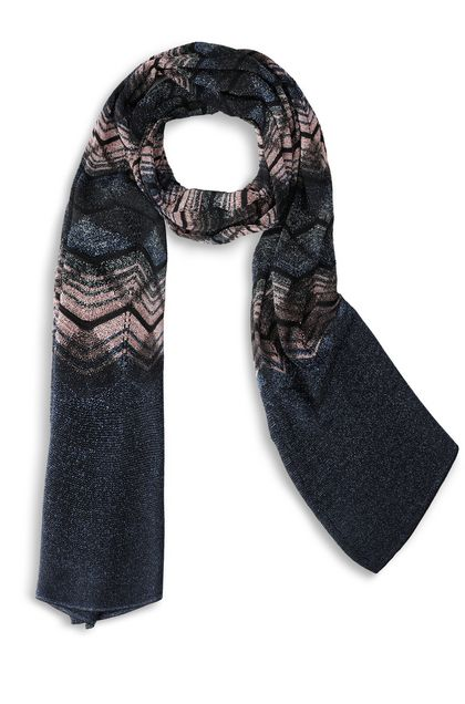 M MISSONI Scarf Black Woman - Back