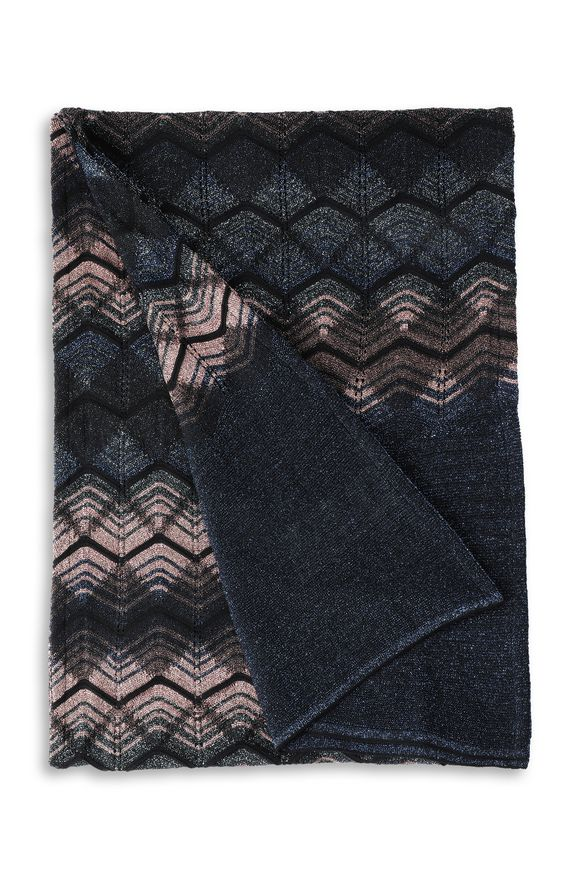 M MISSONI Scarf Woman, Rear view