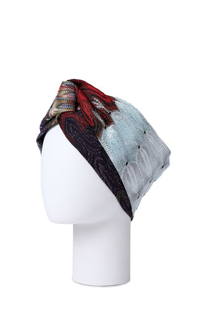 MISSONI Head band Azure Woman - Front