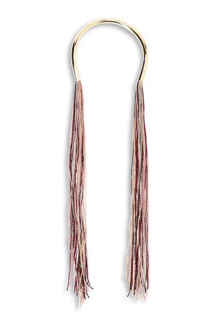 MISSONI Украшение на шею Розовый Для Женщин - Обратная сторона