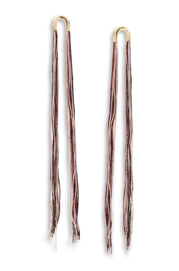 MISSONI Earrings Woman, Frontal view