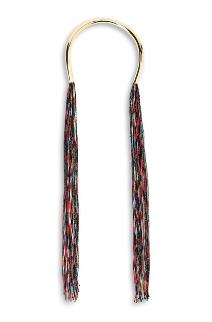 MISSONI Necklace Black Woman - Back
