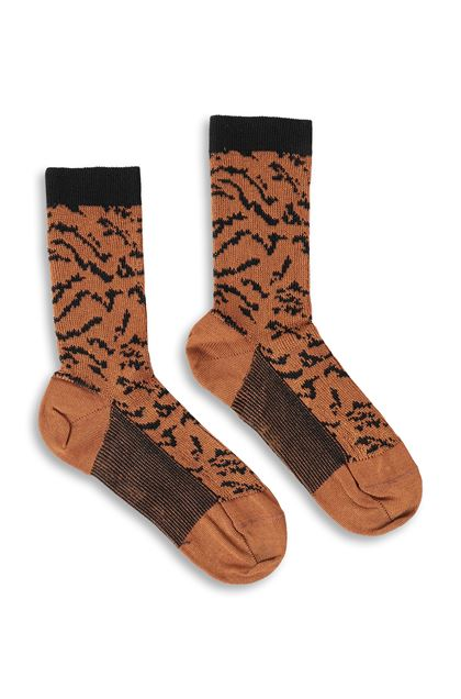 MISSONI Short socks Brown Woman - Back