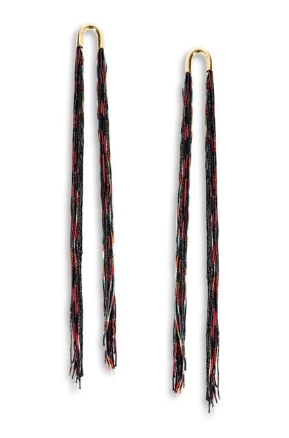 MISSONI Earrings Black Woman - Back