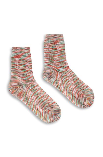 MISSONI Socks Orange Woman - Back