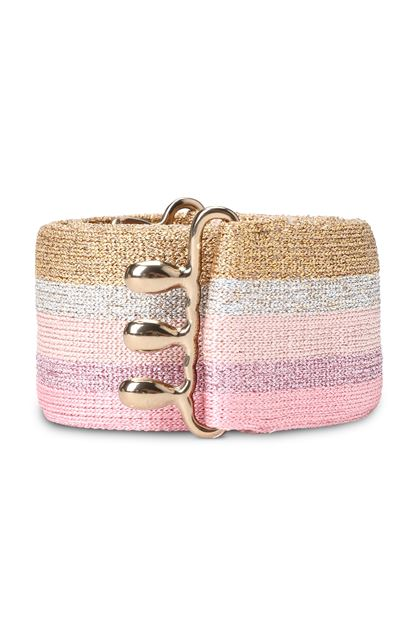 MISSONI Belt Pink Woman - Back