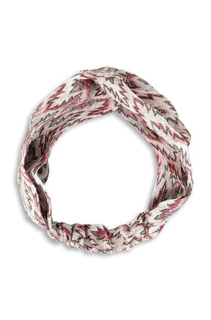 MISSONI Head band Ivory Woman - Back