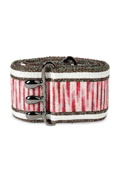 MISSONI Belt White Woman - Back