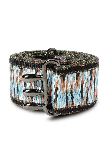 MISSONI Belt Azure Woman - Back