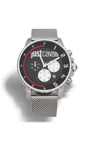 JUST CAVALLI Watch Man Watch with leather strap f