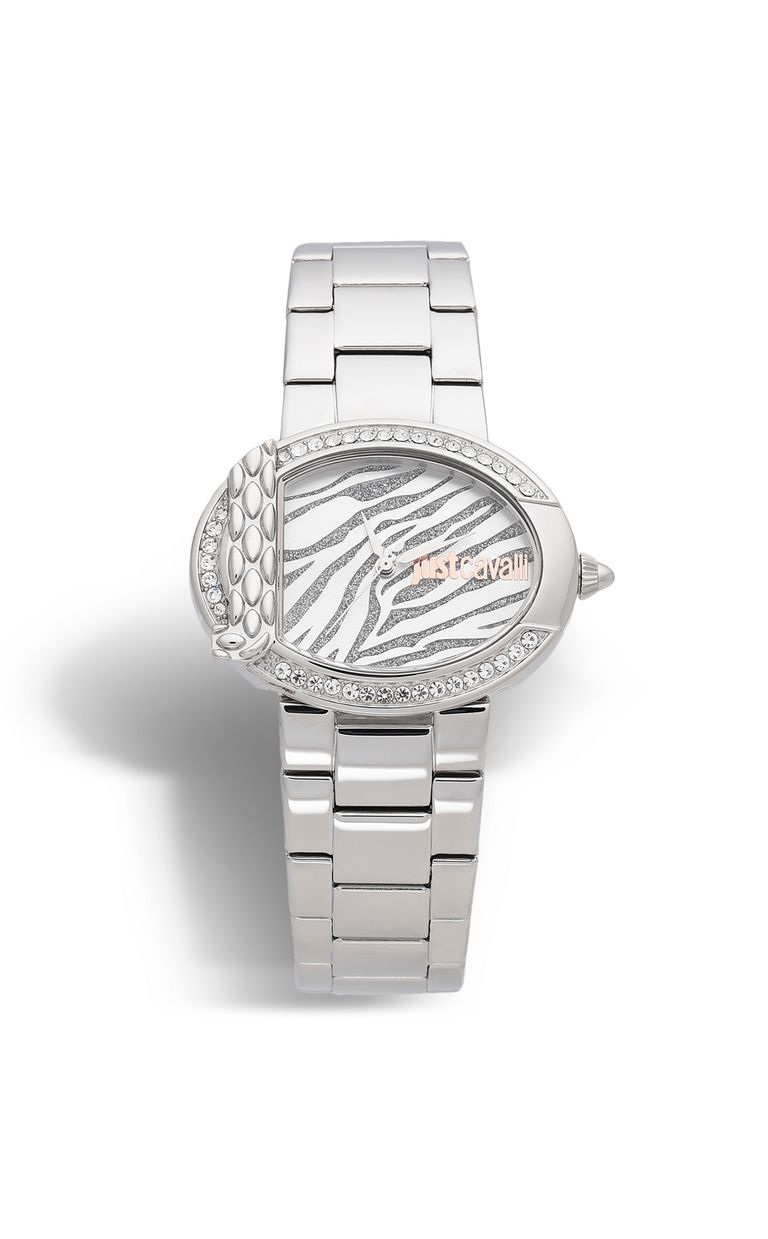 JUST CAVALLI Animal watch in steel Watch Woman f