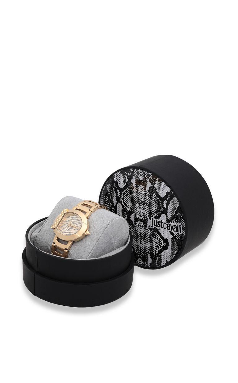 JUST CAVALLI Animal watch in steel Watch Woman r