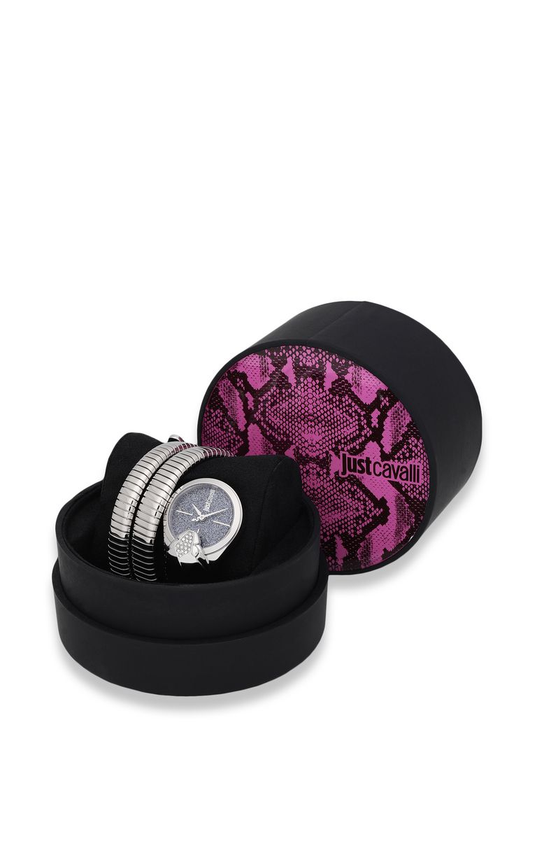 JUST CAVALLI Watch with stylised snake Watch Woman r