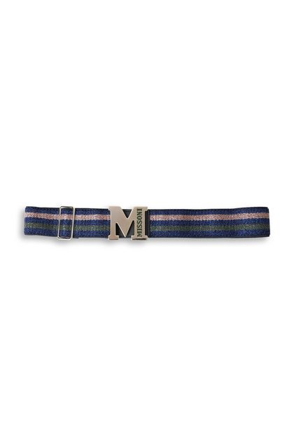 M MISSONI Belt Blue Woman - Front