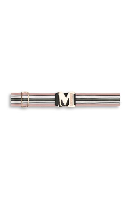 M MISSONI Belt Pastel pink Woman - Front
