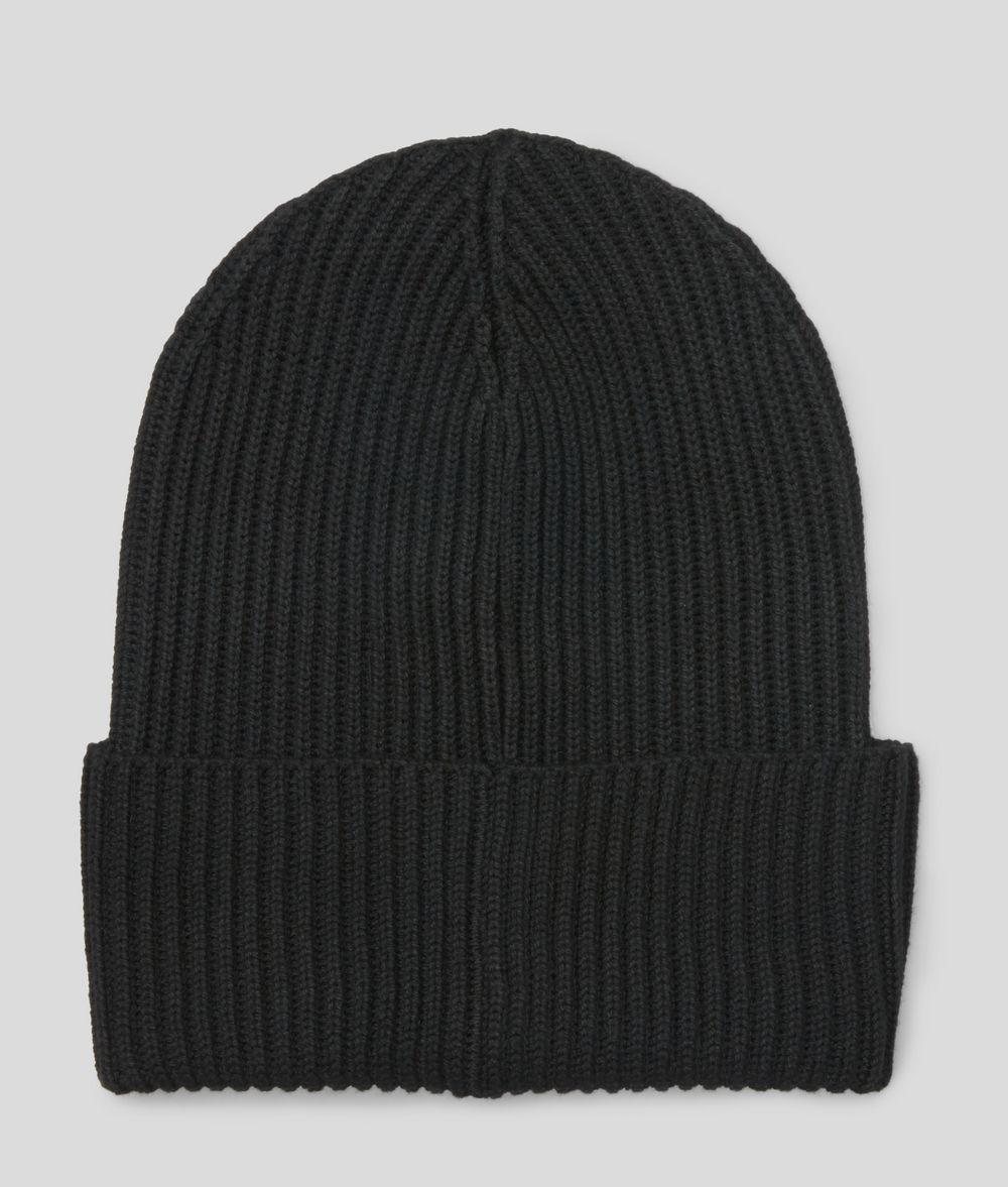 KARL LAGERFELD K/Ikonik Beanie Hat E d