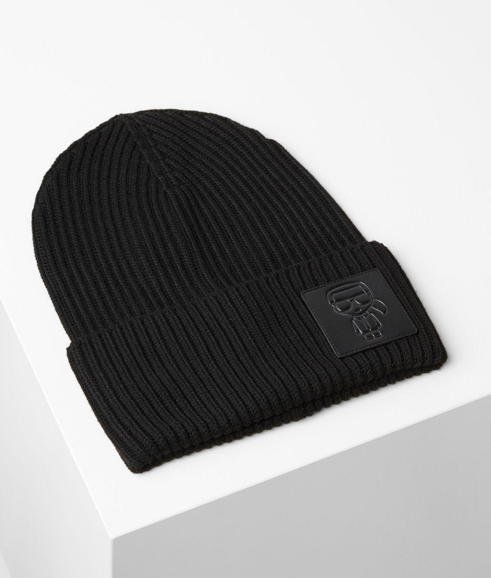 KARL LAGERFELD K/Ikonik Beanie Hat E f