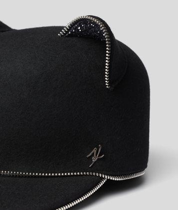 KARL LAGERFELD CHOUPETTE EARS CAP