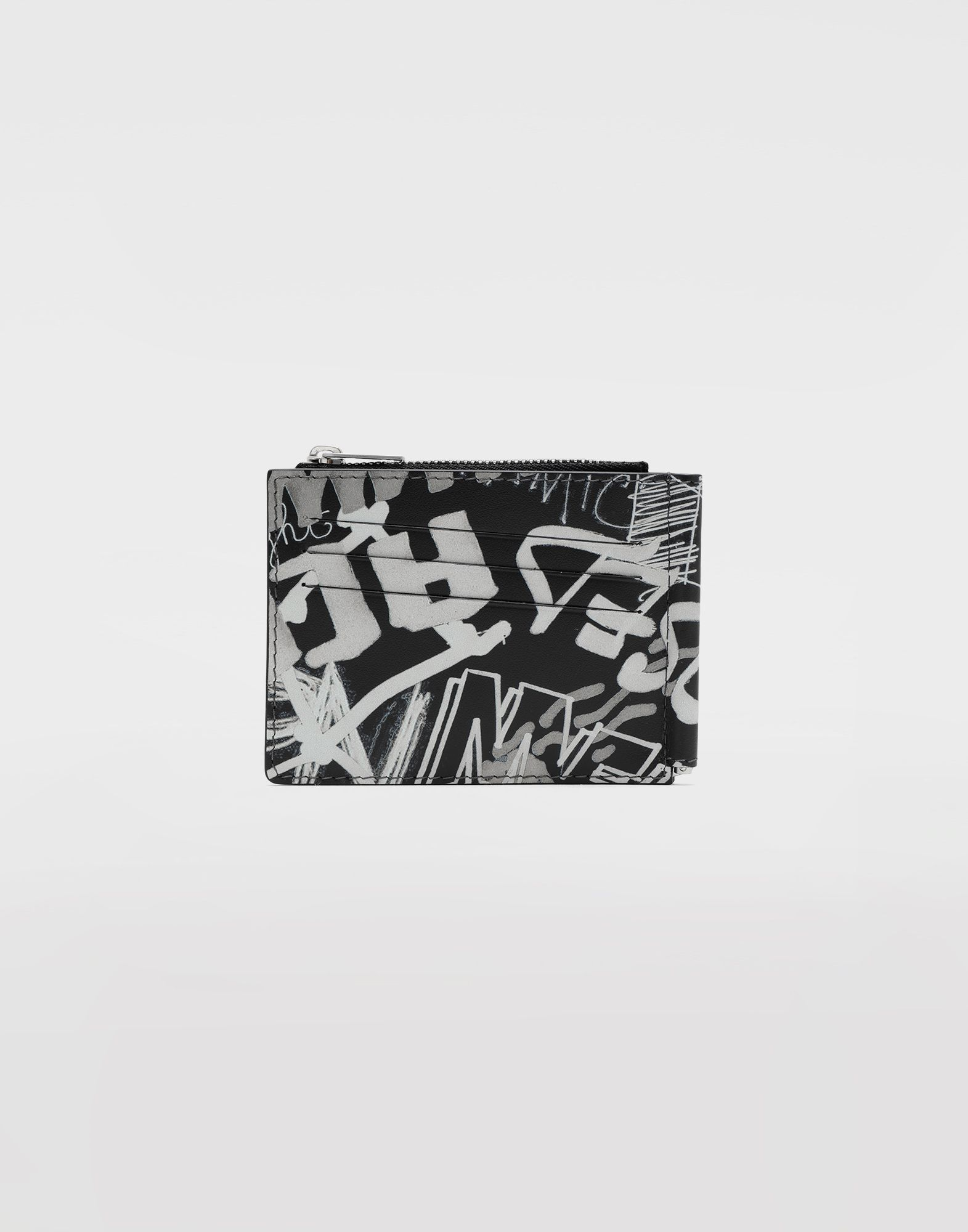 MAISON MARGIELA Graffiti zip wallet Wallets Man f