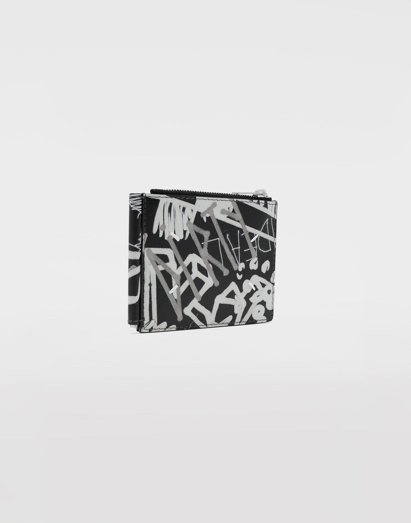 MAISON MARGIELA Graffiti zip wallet Wallets Man r