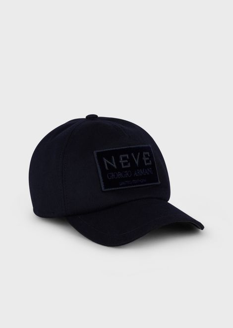 Giorgio Armani Neve cashmere hat with visor