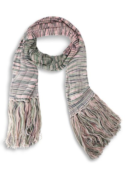M MISSONI Scarf Pink Woman - Back