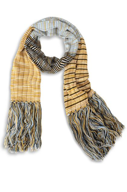 M MISSONI Scarf Ochre Woman - Back