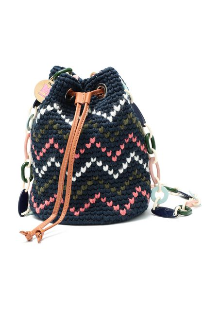 M MISSONI Bags Dark blue Woman - Back