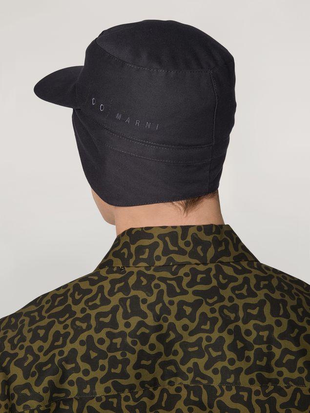 Marni Mütze aus Workwear-Gabardine Herren - 3