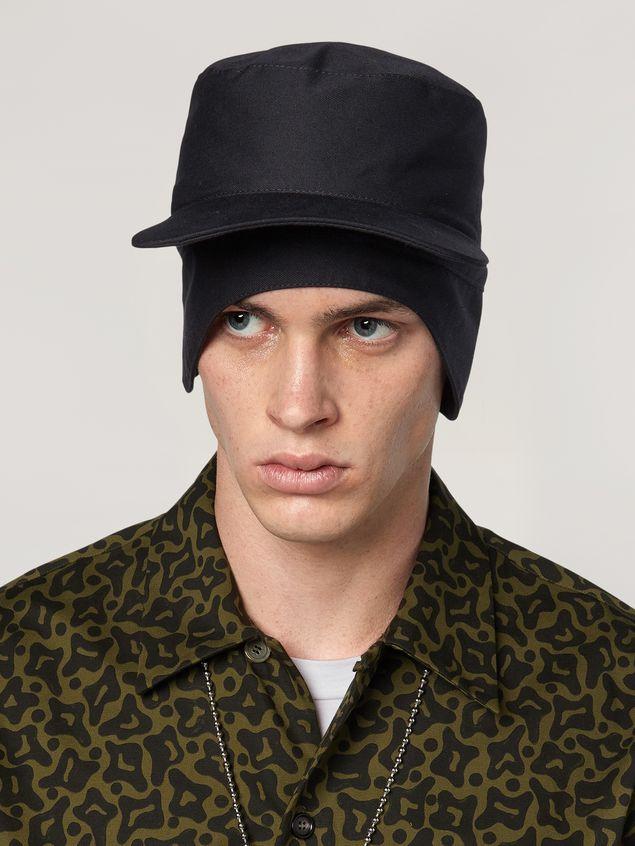 Marni Mütze aus Workwear-Gabardine Herren - 2