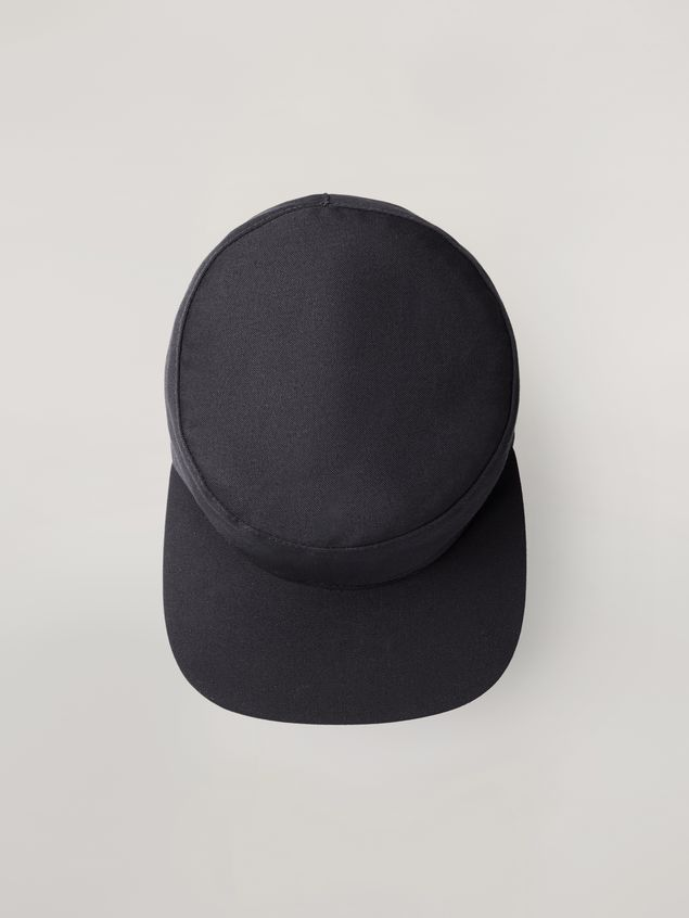 Marni Cap in workwear gabardine Man - 1