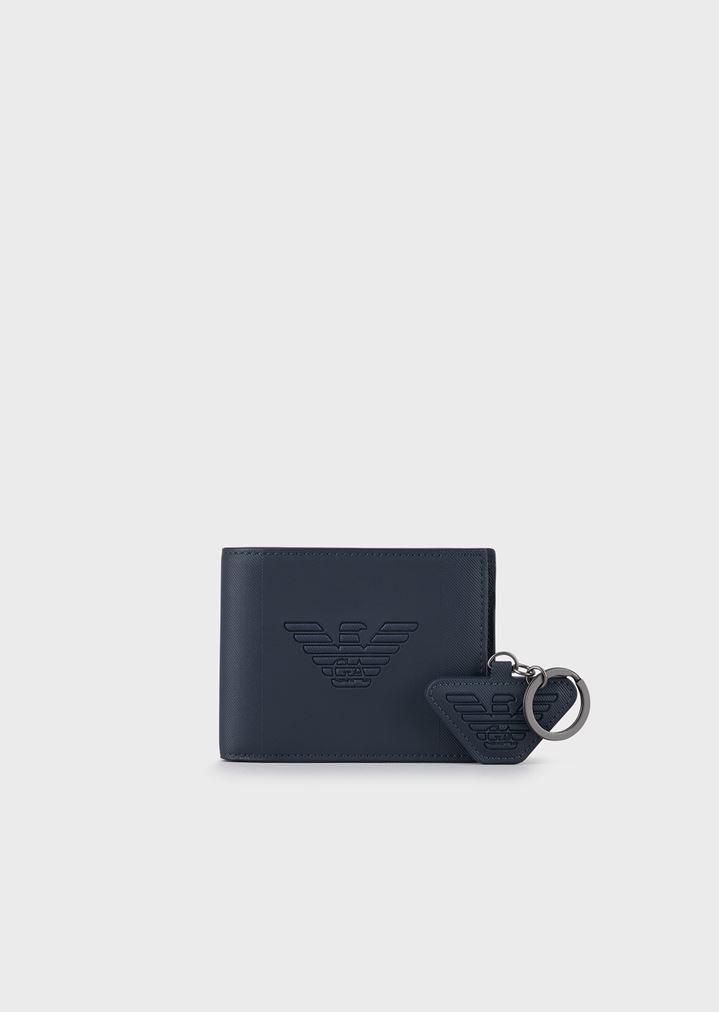 scarpe sportive 49795 016f9 Gift box con portafoglio e portachiavi