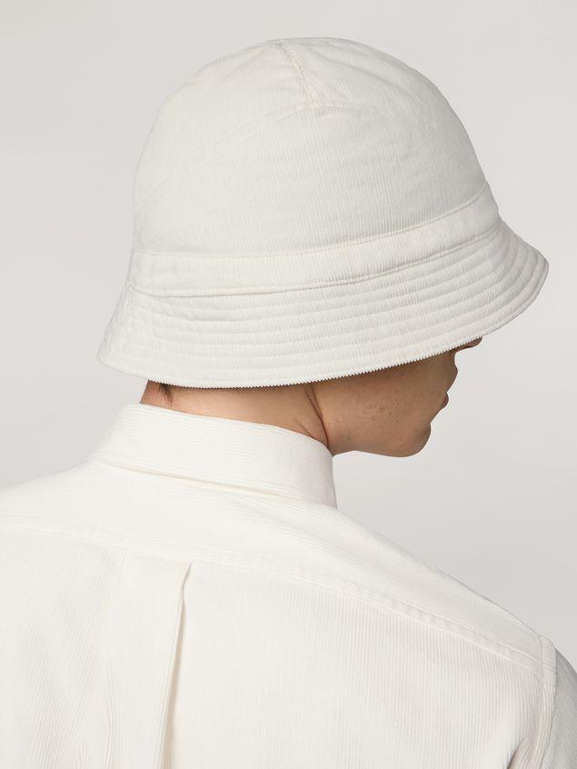 Marni Hat in light corduroy Man - 3