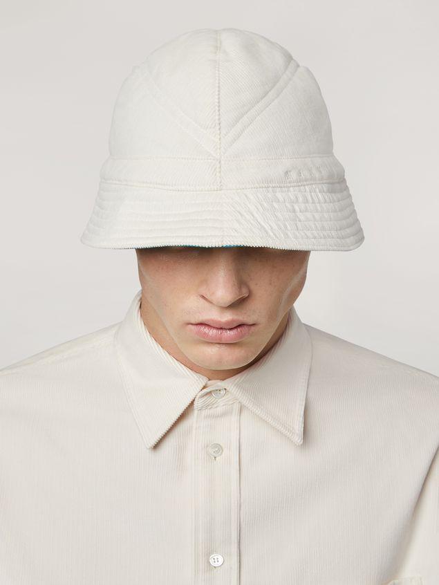 Marni Hat in light corduroy Man - 2