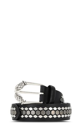 JUST CAVALLI Belt Man Hexagonal buckle belt f