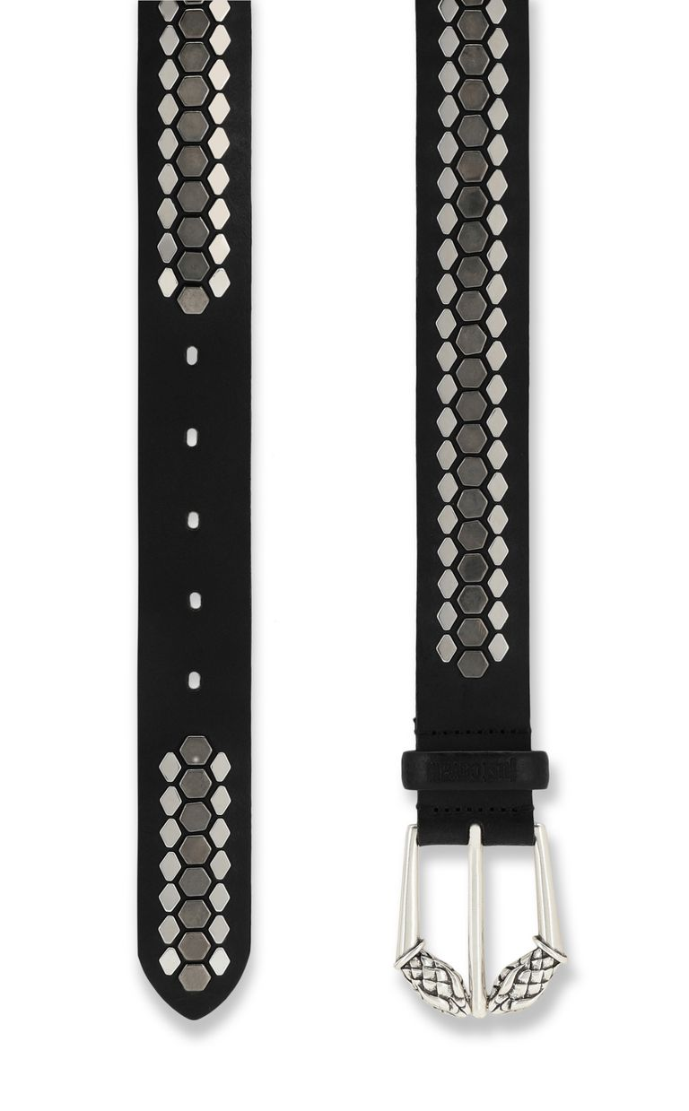 JUST CAVALLI Belt with studs Belt Man d