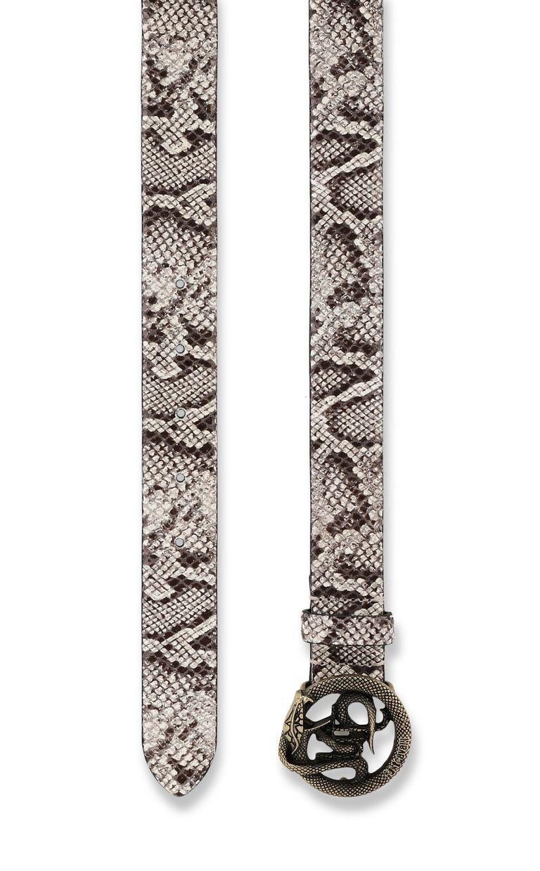 JUST CAVALLI Python-pattern belt Belt Man d