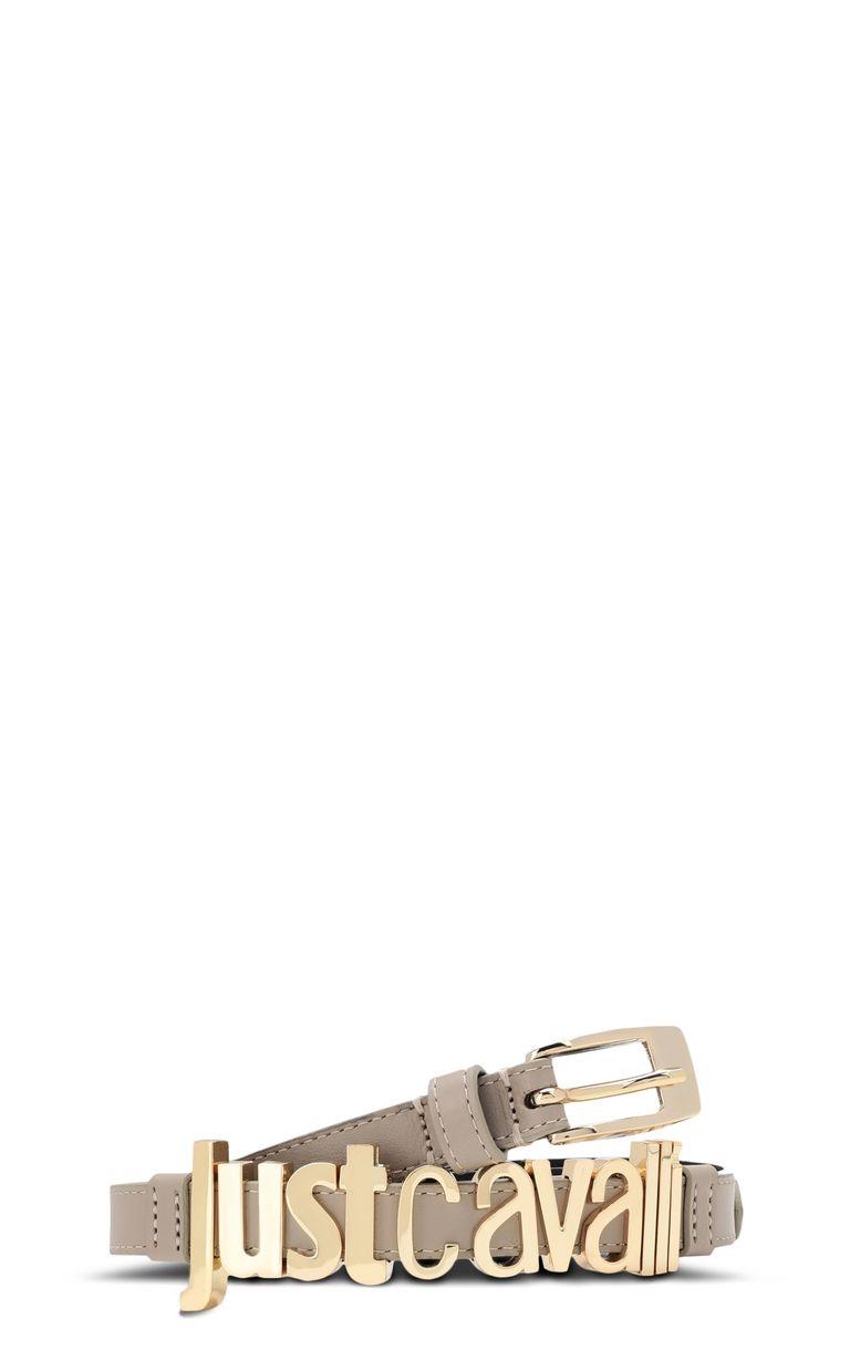 JUST CAVALLI Belt with Just-Cavalli lettering Belt Woman f