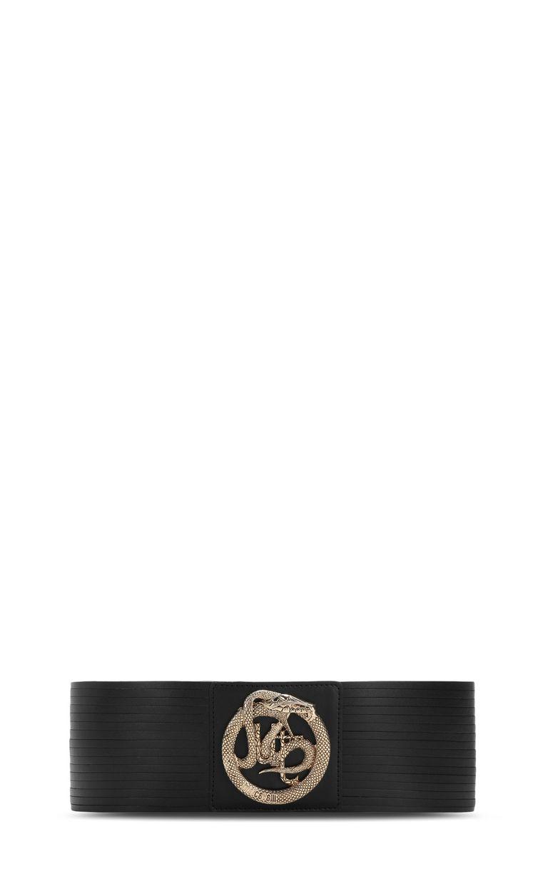 JUST CAVALLI Belt with logo Belt Woman r