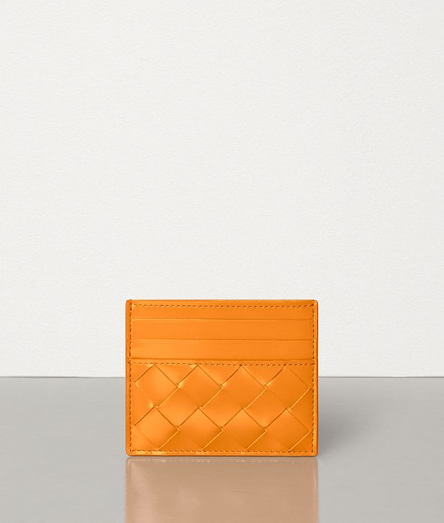 BOTTEGA VENETA CARD CASE IN SPAZZOLATO CALFSKIN Card Case E fp