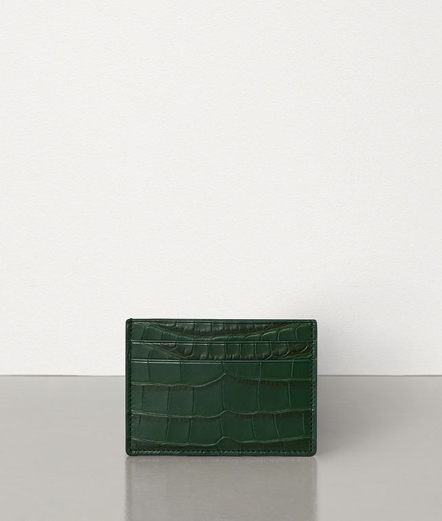 BOTTEGA VENETA CARD CASE IN ALLIGATOR LEATHER Card Case Man fp