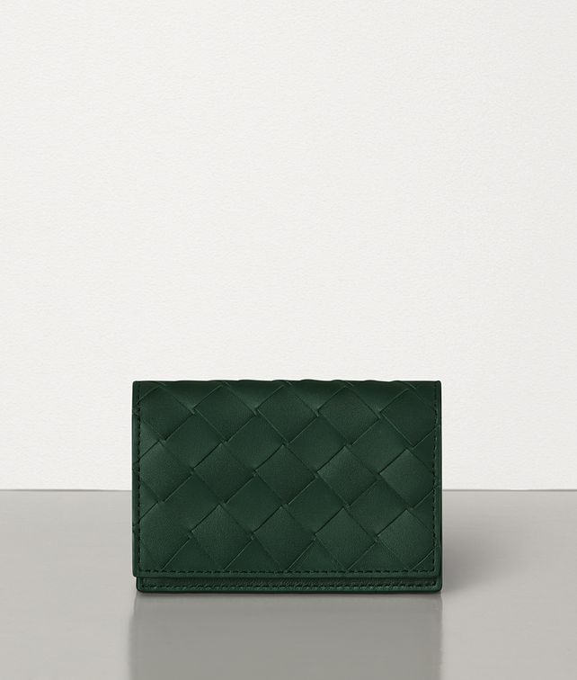 BOTTEGA VENETA CARD CASE IN INTRECCIATO VN Card Case Man fp