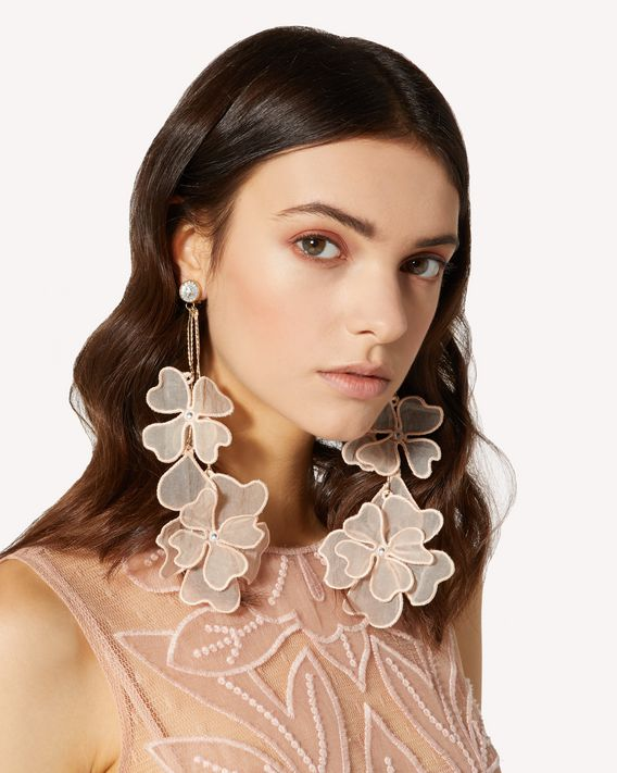 REDValentino FLOWER PARTY EARRINGS