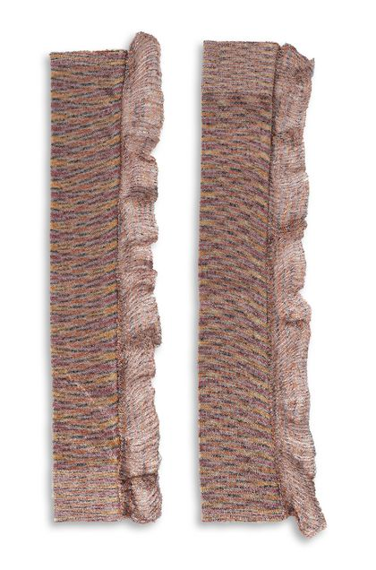 MISSONI Gloves Pastel pink Woman - Front
