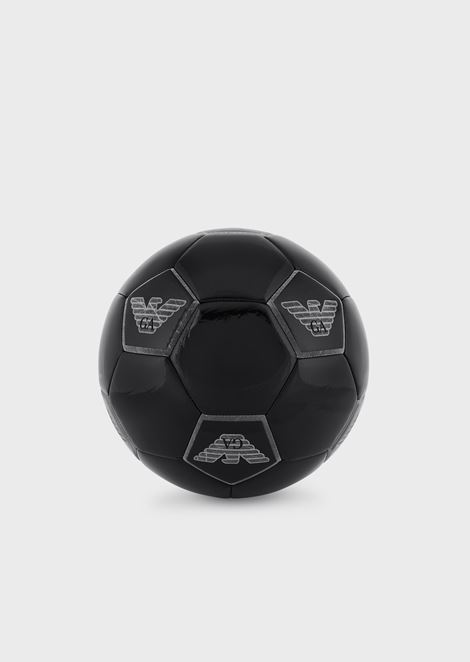 Small logoed football