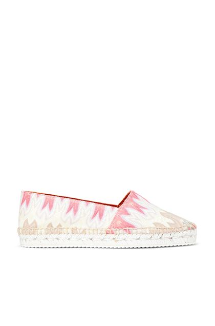 MISSONI Espadrillas Castañer x Missoni  Ivory Woman - Back