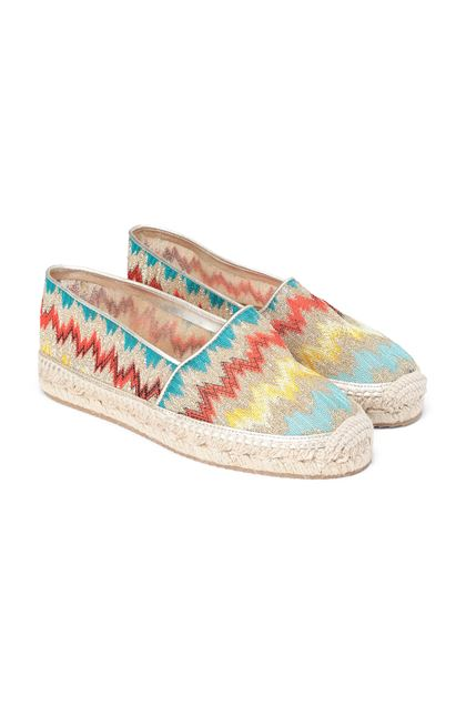 MISSONI Espadrillas Castañer x Missoni  Gold Woman - Front