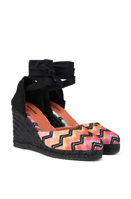 MISSONI Espadrillas Castañer x Missoni  Black Woman - Front