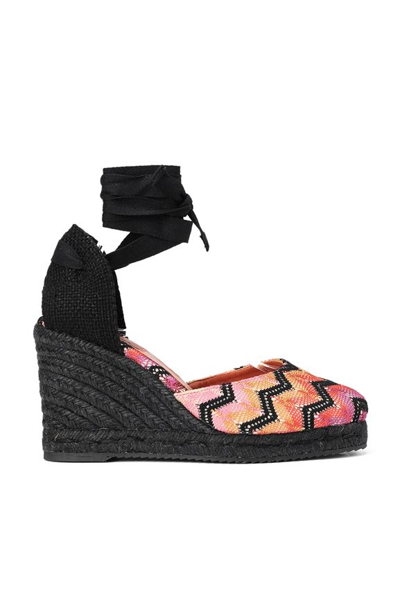 MISSONI Espadrillas Castañer x Missoni  Woman, Frontal view