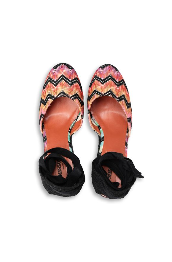 MISSONI Espadrillas Castañer x Missoni  Woman, Side view